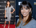 Eva Longoria In Philosophy - 'Paycheck To Paycheck' LA Premiere