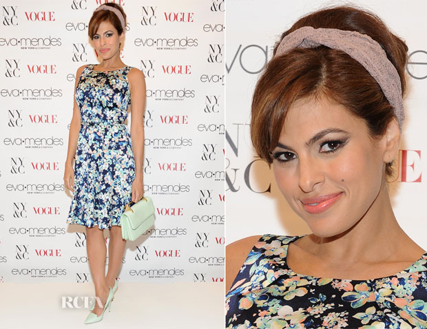 Eva Mendes In New York & Company - New York & Company Spring Launch
