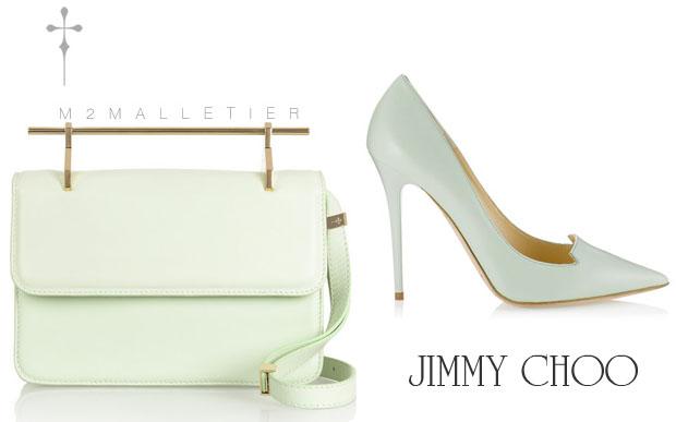 Eva Mendes M2Malletier & Jimmy Choo