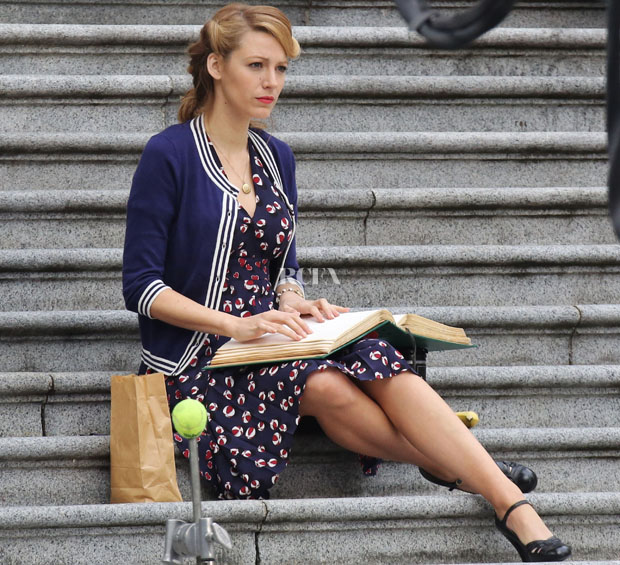 Blake Lively Films 'Age of Adaline'