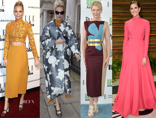 Fall 2014 Celebrity Looks On ModaOperandi