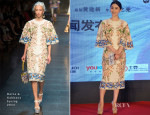 Fan Bingbing In Dolce & Gabbana - 'White Haired Witch' Press Conference
