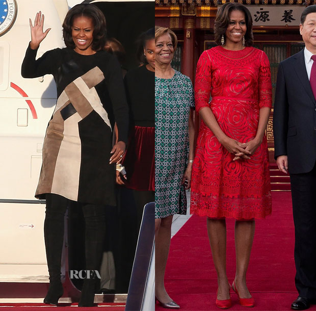 First Lady Michelle Obama Travels to China