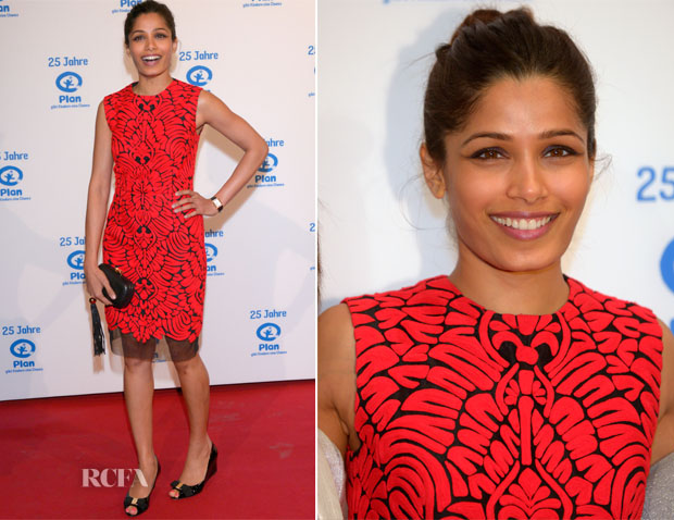 Freida Pinto In Pankaj and Nidhi  - Plan International Deutschland Celebrates 25 Years Anniversary