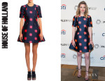 Gillian Jacobs' House of Holland 'Starburst Disco' Dress