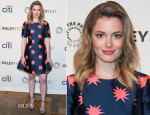 Gillian Jacobs In House of Holland - PaleyFest 2014 Honouring 'Community'