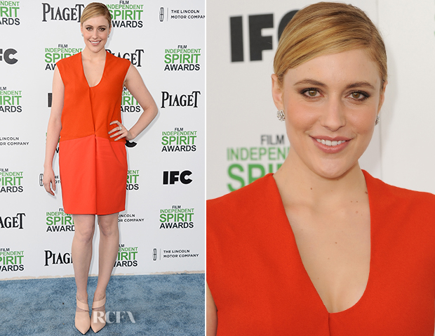 Greta Gerwig In Narciso Rodriguez - Film Independent Spirit Awards 2014