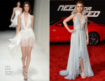 Imogen Poots In Nina Ricci - 'Need For Speed' LA Premiere