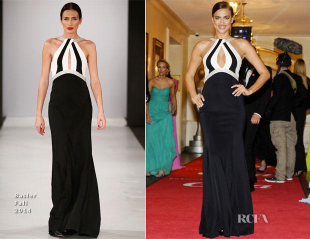 Irina Shayk In Basler - Gala Spa Awards 2014