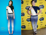 Isabelle Fuhrman In Nonoo - 'The Wilderness of James' SXSW Film Festival Photo Op