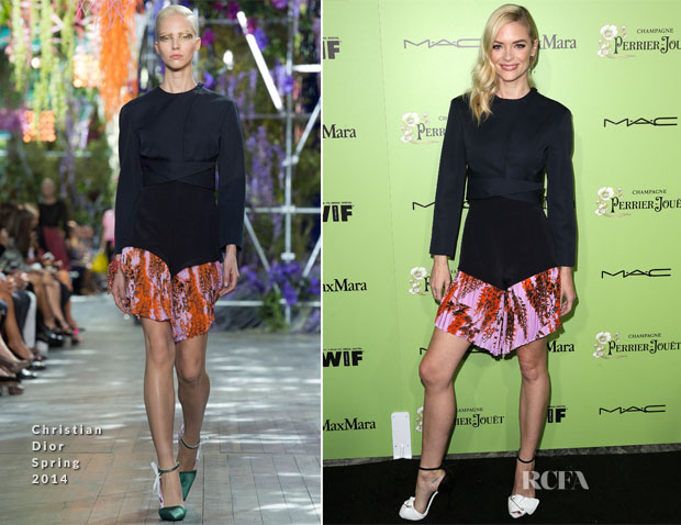 Jaime King In Christian Dior - 7th Annual Women In Film Pre-Oscar Cocktail Party
