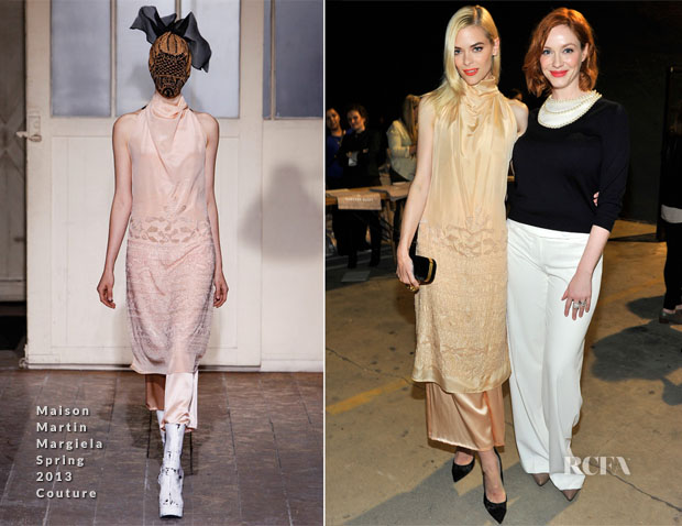 Jaime King In Maison Martin Margiela - Hunters Alley Launch