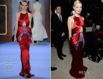 Jaime King In Ulyana Sergeenko Couture - Elton John AIDS Foundation Oscar Party