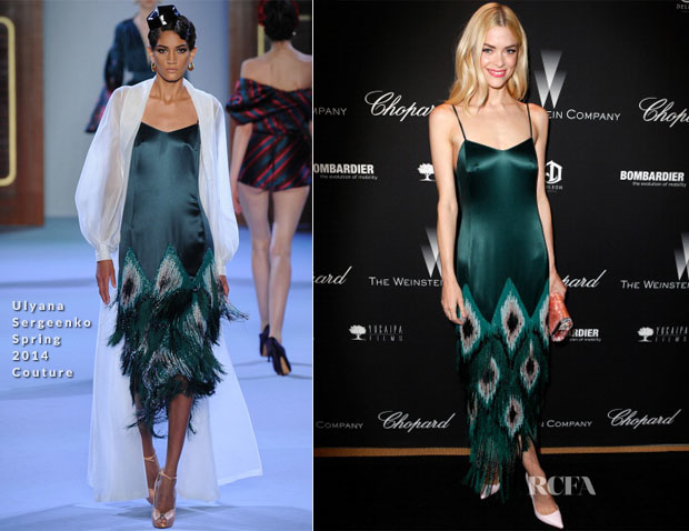 Jaime King In Ulyana Sergeenko - The Weinstein Company's Academy Award Party