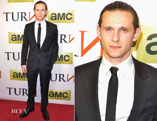 Jamie Bell In Dior Homme - 'Turn' Series Premiere