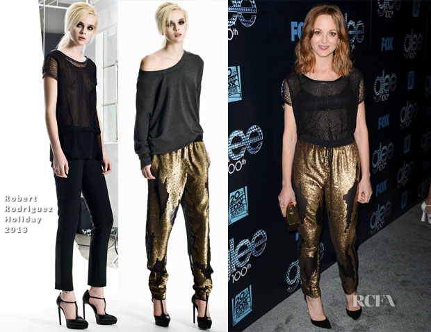 Jayma Mays In Robert Rodriguez - 'Glee' 100th Episode Celebration
