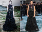 Jennifer Connelly In Alexander McQueen - 'Noah' London Premiere