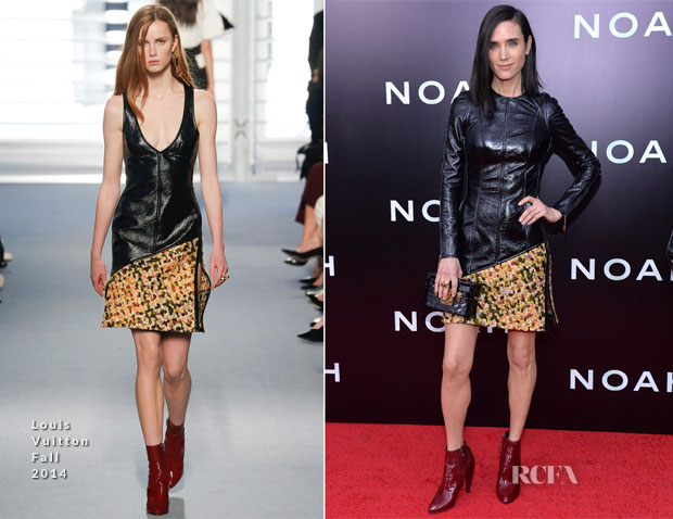 Jennifer Connelly In Louis Vuitton - 'Noah' New York Premiere
