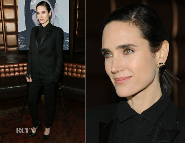 Jennifer Connelly In Saint Laurent - DuJour Magazine Spring 2014 Issue Party