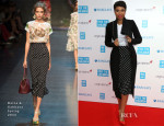 Jennifer Hudson In Dolce & Gabbana - 'We Day UK'