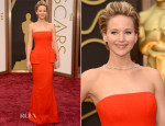 Jennifer Lawrence In Christian Dior Couture - Oscars 2014