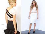 Jennifer Lopez In ASOS - 'American Idol' Season 13 - Top 9 To 8 Live Show