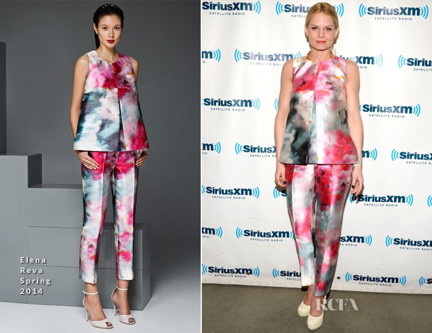 Jennifer Morrison In Elena Reva - SiriusXM Studios