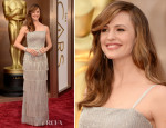 Jennifer Garner In Oscar de la Renta - Oscars 2014