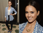 Jessica Alba In Cartonnier & J Brand -  'A Denim Story' By Emily Current, Meritt Elliott and Hilary Walsh