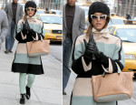 Jessica Alba In Chloé - Out In New York City
