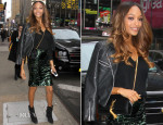 Jourdan Dunn In Burberry & Topshop - Good Morning America