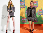 Kaley Cuoco In Rebecca Minkoff - Nickelodeon Kids' Choice Awards 2014