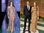 Kate Beckinsale In Elie Saab Couture - Vanity Fair Oscar Party 2014