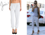 Kate Beckinsale's Joie 'Mariner' Crop Pants