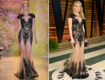 Kate Hudson In Zuhair Murad  Couture - Vanity Fair Oscar Party 2014