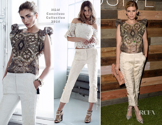 Kate Mara In H&M Conscious Collection – H&M Conscious Collection Dinner