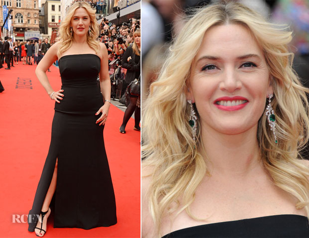 Kate Winslet In Jenny Packham - 'Divergent' London Premiere
