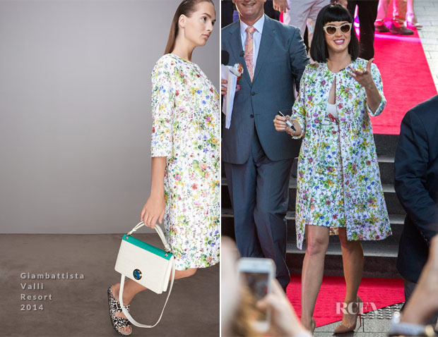 Katy Perry In Giambattista Valli - 'Sunrise in Sydney'
