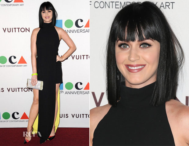 Katy Perry In Versace Collection - Museum Of Contemporary Art (MOCA) 35th Anniversary Gala