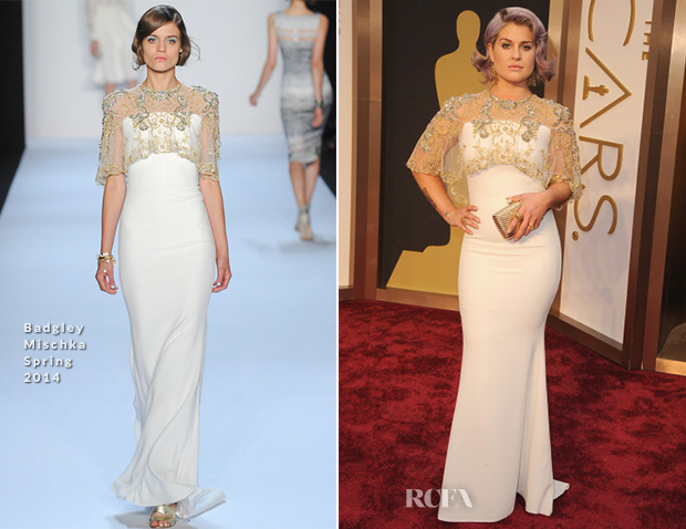 Kelly Osbourne In Badgley Mischka - Oscars 2014