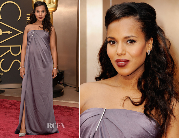 Kerry Washington In Jason Wu - Oscars 2014