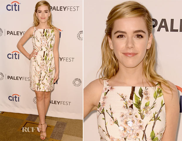 Kiernan Shipka In Dolce & Gabbana - PaleyFest 2014 Honouring 'Mad Men'