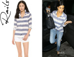 Kourtney Kardashian's Rails 'Jesse' Button Down Shirt