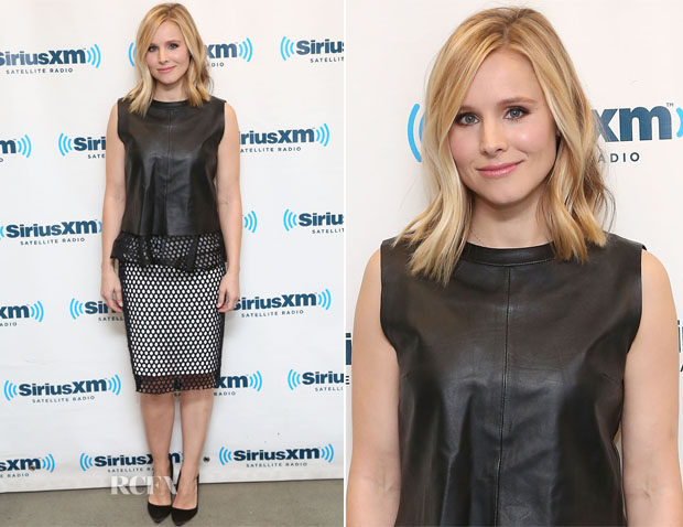 Kristen Bell In Elizabeth and James - SiriusXM Studios