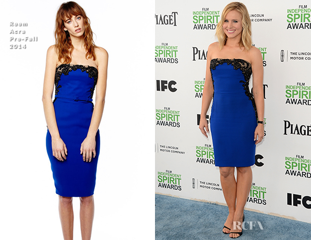 Kristen Bell In Reem Acra - Film Independent Spirit Awards 2014