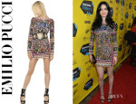 Krysten Ritter's Emilio Pucci Beaded Tulle Dress