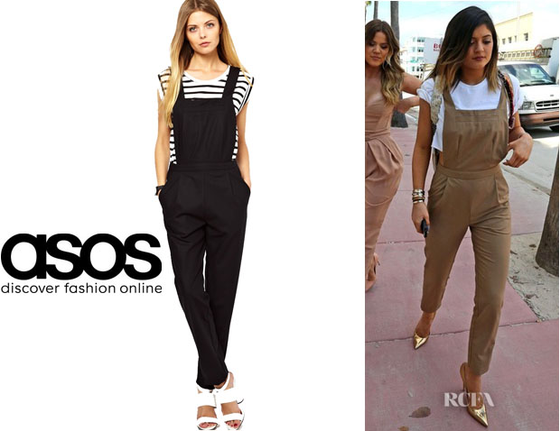 Kylie Jenner S Asos Tailored Jumpsuit Red Carpet Fashion Awards