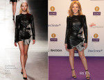 Kylie Minogue In Anthony Vaccarello - Echo Award 2014