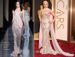 Lady Gaga In Atelier Versace - Oscars 2014