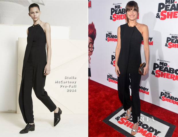 Lake Bell In Stella McCartney - 'Mr Peabody & Sherman' LA Premiere